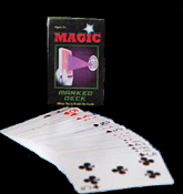Poker Blackjack Cheat - MARKED DECK PLAYING CARDS Magic Trick Secret Magician Gag Gift Joke Prank Standard Coated Playing Card Size Over 20 Easy-to-do Professional Magic Tricks!
