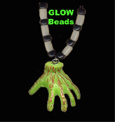 Ghoul Walking Dead ZOMBIE HAND NECKLACE Walkers Costume Jewelry
