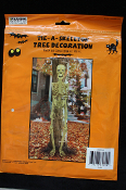 Gothic Scene Setter--SKELETON COLUMN PILLAR POST TREE WRAP-Party Decoration Prop