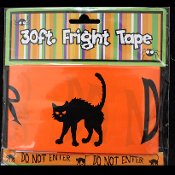 Gothic Decor-DO NOT ENTER-Fright Caution Tape-Zombie Halloween Prop Costume Party Decoration Haunted House Decor-30 ft