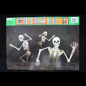 Gothic Halloween Horror Prop-SKELETON ATTACK-Floor Wall Grabber-Party Decoration