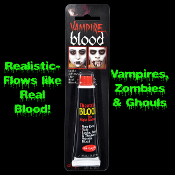True Horror Realistic Fake-ZOMBIE VAMPIRE BLOOD-Cosplay Costume Makeup Accessory