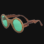 New Steampunk-GIZMO AVIATOR GOGGLE GLASSES-Techno Punk Cosplay Costume Accessory