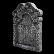 Cheap Wholesale Discount Realistic Scary Fake TOMBSTONES, Headstones, Grave Markers, Stones, FENCES, Indoor Outdoor, Spooky Haunted House Cemetery Crypt Props, Creepy Halloween Graveyard Decorations