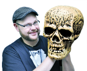 Cheap Wholesale Discount Realistic Toy Human Replica Model Anatomy FAKE SKULLS, Life Size, Miniature, Small, Large, All Sizes, GIANT SKULL, Scary Halloween Horror Spooky Haunted House Props Creepy Phony Skeleton Head Decorations
