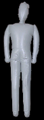 Cheap Wholesale Discount Life Size INFLATABLE MANNEQUINS, Dead Body Props, Inflatable Bodies, Dress-up Clothing DUMMIES, Apparel DISPLAY DUMMY, Adult Blow Up Doll, Halloween Haunted House Horror Cosplay Costume Decorations