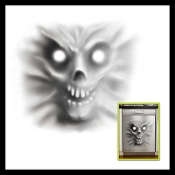 Creepy Devil inspired DEMON DISHWASHER DOOR COVER will scare anyone who comes into the kitchen. Frighten guests this Halloween with this cool static cling Spooky Spirit Mural Poster. Scary Haunted House horror prop decoration, approx 30-inch square.