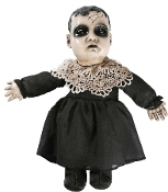 Cheap Wholesale Discount Spooky ZOMBIE BABIES Halloween Prop, Unique Talking Undead Baby Doll, Scary Fake Speaking HAUNTED DOLLS, Creepy Haunted House Horror Decor