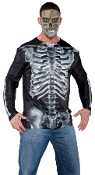 Realistic Image PHOTO REAL, PhotoReal, Photo Realistic Costume Images, Digital Dudz SHIRTS, DigitalDUDZ, Costume Top with Phone Pocket, Novelty Special Effect SHIRT, iphone Android apps Animated Smart Phone Control Horror Cosplay Costume Accessories