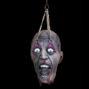Cheap Wholesale Discount Realistic Bloody Decapitated Cut-Off Dismembered Fake SEVERED HEADS, Creepy Morgue Autopsy Body Parts, Scary Halloween Decorations, Spooky Haunted House Dungeon Chop Shop Butcher Meat Market Props