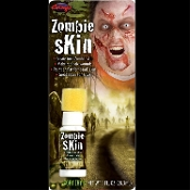 Walking Dead Body Fake ZOMBIE SKIN Wound FX Special Effects Halloween Cosplay Costume Horror Make Up - Natural *Rubber Latex* (NRL)- Pull, shape, tear, twist into FX features. Create scars, wrinkles, warts, realistic wounds, torn dead skin.