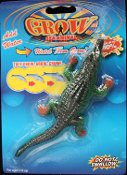 Gag Gift GROWING ALLIGATOR CROCODILE LIZARD Safari Theme Decoration Halloween Prop Mad Scientist Laboratory Science Project Party Favor. Put in any jar for a gruesome Halloween prop! Starting size is approx. 5-inch long.
