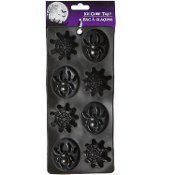 Novelty SpiderMan Theme Inspired SPIDER WEB ICE TRAY MOLD Gothic Horror Wicked Witch Drink-SPIDERWEB SHAPED ICE CUBE FORMS-Halloween Costume Birthday Party Horror Decorations Jello Gelatin Shots Candy Chocolate Kitchen Accessory DIY Crafts Supplies