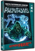 Amazing Realistic Animated Digital Special Effects PHANTASMS AtmosFEARfx Illusions FX DVD. Astound visitors with a gathering of ghouls and spirits who levitate, shriek and startle mortals of this world! Fun for Halloween haunted house costume party!