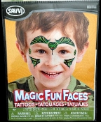 FACE Temporary Makeup Tattoos, Face Gems, Face Decals, Makeup Stickers