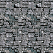 30-Ft GRAY STONE WALL ROOM ROLL BACKDROP Photo Booth Decoration