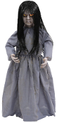 "32"" Talking LIL SWEET VENGEANCE Haunted Girl Doll Halloween Prop"