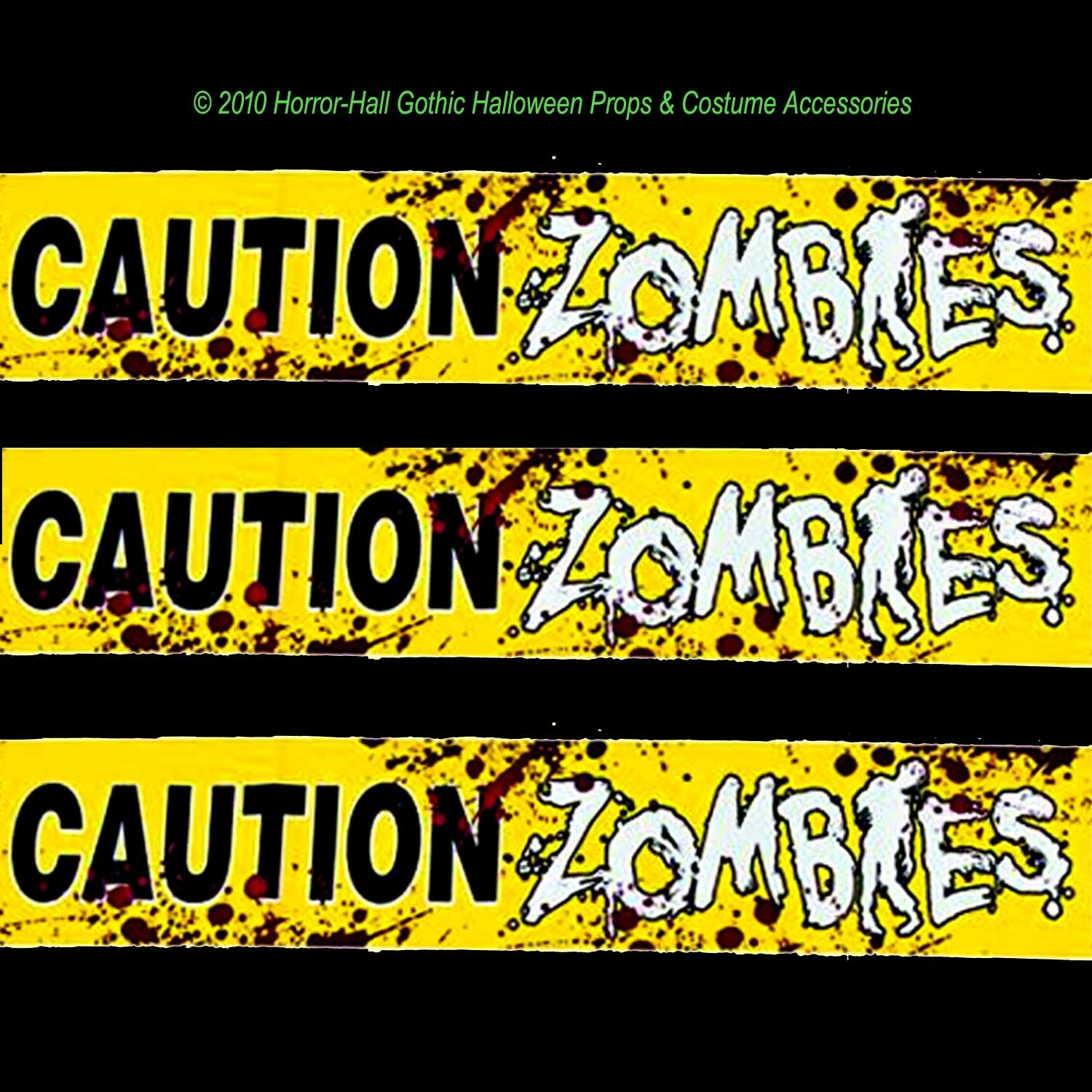 bloody-walking-dead-caution-zombies-fright-tape-border-halloween ...